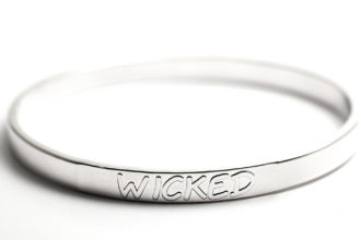 Wicked Silver Bangle