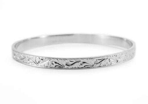 Natural Flow Silver Bracelet